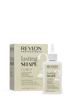 Revlon Professional lasting Shape Curly Curling Lotion Sensitised Hair 3x100ml. Revlon Professional, Curly, Professional Hairstyles, Masters, Soap, Personal Care, Beauty, Hair, Master's Degree