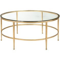 Safavieh Couture Collection Edmund Antique Gold Gilt Round Cocktail Table    18180494   Overstock   Great Deals On Safavieh Coffee, Sofa U0026 End Tables    ...