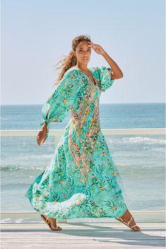 Luxury Swimwear, Designer Swimwear, Women's Swimwear, Women's Plus Size Swimwear, Wide-brim Hat, Johnny Was, Boho Dress, Dress Collection, Dress Outfits