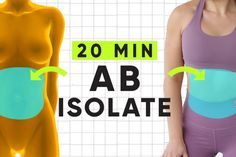 You guys, today's 20 minute Pilates ab workout is NO JOKE. Imagine my hardest ab workout videos all smooshed together into one supreme core crushing workout. Abs Workout Video, Ab Workout At Home, Abs Workout For Women, At Home Workouts, Workout Log, Total Abs, Hard Ab Workouts, Interval Training Workouts, Hiit