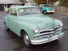 1950 plymouth - OMG, we had one exactly like this!