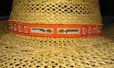My latest...hatband for Gold Country Shooters/Calaveras HS...fun shotguns!