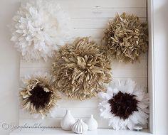 diy juju feather hat tutorial mantel decoration from songbirdblog