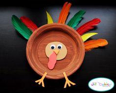 thanksgiving handprint turkey