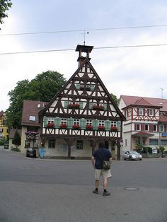 Ulbach near Stuttgart, German House