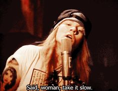 guns n roses rock n roll gif
