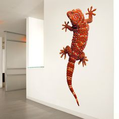 Gecko 11x24 Red now featured on Fab.