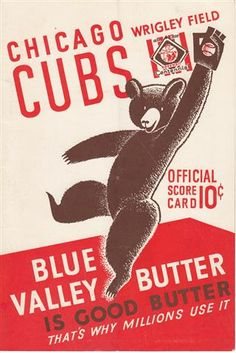 Chicago Cubs #Typography #GraphicDesign
