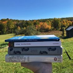 It's peak foliage season here in the American northeast and I am taking as much advantage of it as I can. This is everything I'm #currentlyreading at the moment. I never read only one book at a time! Are most of you more one-book-at-a-time or many-books-at-a-time sorts of readers? . #bookish #booknerd #igreads  #bookworm #booklover #bookstagram #bibliophile #booknerdigans #bookstagramfeature #antoinedesaintexupery #lepetitprince #sheridanlefanu #inaglassdarkly #frankenstein #maryshelley…