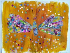 Comment la chenille d'Eric Carle devint un papillon.