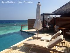 Water Pool Villa - Terrasse