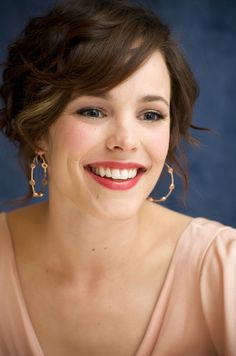 Rachel McAdams, i think she is stunning