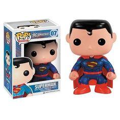 DC Universe Pop! Vinyl Figure New 52 Superman [Previews Exclusive]
