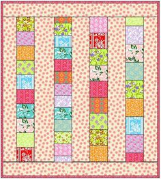 Quilt As You Go - Quilt Taffy: Showered with Love
