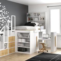 Small Room Design Bedroom, Room Ideas Bedroom, Bedroom Decor, Bedroom Storage, Furniture Design For Bedroom, Ikea Storage Bed Hack, Bedroom Organization, Bed Storage, Bedroom Bed