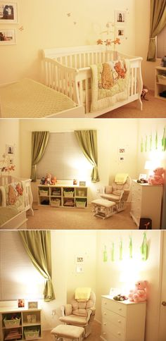 I love this room but more than that I love the rockin' chair for mom - I sooo want that!!