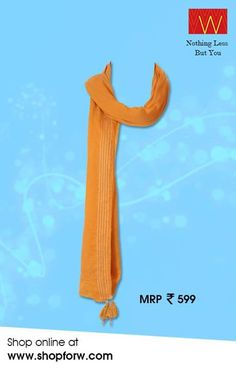 Add some bits of serenity to your attire with this beautiful orange drape : http://www.shopforw.com/categoryProducts.php?catID=137&maincatName=In%20Stores&smallCat=Drapes