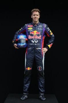 Round 1, Rolex Australian Grand Prix 2013, Preparation, #1 Sebastian Vettel (DEU), Driver, Infiniti Red Bull Racing