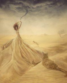 Sand Storm - Nikolina Petolas (Print)