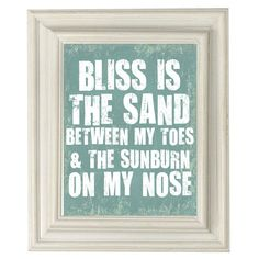 Digital Download No. 224, Beach Quote Print found on Polyvore