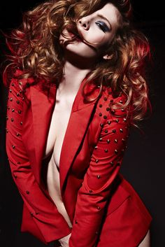 """Moulin Rouge"" - Red - Fashion - Photography"