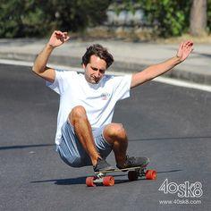 "102 Me gusta, 5 comentarios - @40sk8 en Instagram: ""Style is everything . #40sk8 #hobieflex #skate #skateboarding #longboard #longboarding #longskate…"""