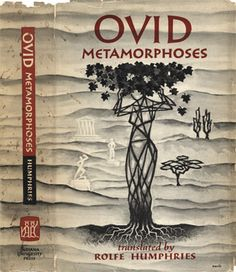 Ovid - Metamorphoses. An amazing compilation of many Greek and roman myths. So many books reference these myths and is one of the must reads of the book world :)