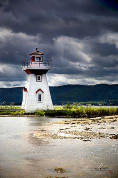 Seal Island Lighthouse - Nova Scotia, Canada