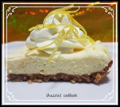 LEMONADE SQUARES (my adaption from an American recipe) 1 pkt butternut snap biscuits 125 grams butter, melted 500 grams cream. American Food, Lemonade, Squares, Biscuits, Cheesecake, Desserts, Recipes, Cookies, Cheesecake Cake