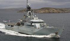 Falklandy: Nowy okręt patrolowy Royal Navy | DEFENCE24