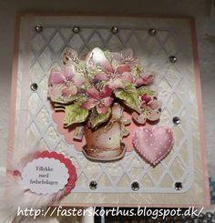 Fasters korthus: Blomsterkort