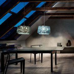 Louis Poulsen Collage 450 pendant, dark green matt | Pendants | Lighting | Finnish Design Shop