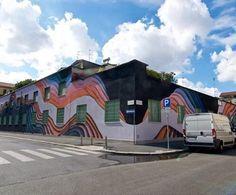 New mural by @1010zzz in Milan, Italy. // Found via @streetartnews.