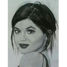 https://flic.kr/p/uWPmit | Repost from @kajiiii_ K y l i e  J e n n e r  @kyliejenner  #kyliejenner #kyliejennerart #kyliejennerdrawing #art #artwork #drawing #draw #ölfarben #polychromos #portrait #portraitdrawing #BOUCHAC #LADYTEREZIE  ♦️:black_d