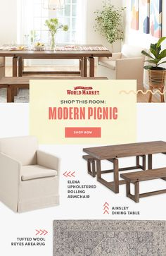 Browse an unbeatable selection of unique living room furniture from modern sofas and sectionals to wood sideboards and coffee tables, all available at affordable World Market prices. #worldmarket #livingroomdecor