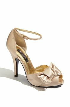 Nina 'Electra' Sandal (Online Exclusive) available at Nordstrom Grape color Bridal Shoes, Wedding Shoes, Gold Wedding, Wedding Girl, Nina Shoes, Me Too Shoes, Pretty Shoes, Beautiful Shoes, Bridesmaid Shoes
