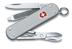 El regalo perfecto para Papá!  Paga Bs. 80 en vez de Bs. 160 por una genuina navaja suiza victorinox en su versión silver alox SD en Joyas Talita