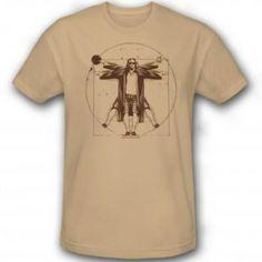 The Big Lebowski Dude da Vinci T-Shirt- joes Xmas gift. 69a62c6b8