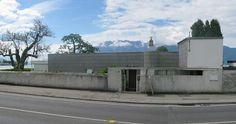 Villa Le Lac. 1922-24. Corseaux, Vevey, Switzerland. Le Corbusier