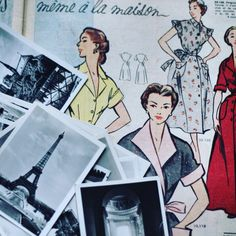 The evidence out there is incredible. While there are so many different sewing pattern companies popping in the sewing scene; there is no denial that the french designer-makers are here to stay or … Sewing Blogs, Sewing Crafts, Clothing Patterns, Sewing Patterns, French Pattern, Sewing Clothes, Dressmaking, Wonders Of The World, Couture