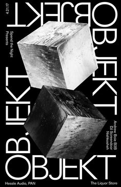 Poster for a hard hitting techno night featuring OBJEKT: graphic_design Graphic Design Layouts, Web Design, Graphic Design Posters, Graphic Design Typography, Graphic Design Illustration, Graphic Design Inspiration, Layout Design, Design Art, Poster Designs