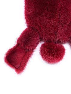 RICK OWENS - BAGS - Rick Owens Fat Bunny, Mink Fur, Rick Owens, Calf Leather, Long Hair Styles, Bags, Handbags, Long Hair Hairdos, Long Haircuts