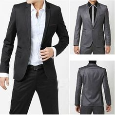 Online Shop The cheast bussiness suit/men fashion suit / men black suit / handsome men suit|Aliexpress Mobile