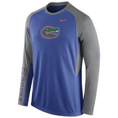 Nike Florida Gators Elite Basketball Pre-Game Shootaround Long Sleeve Dri-FIT Top