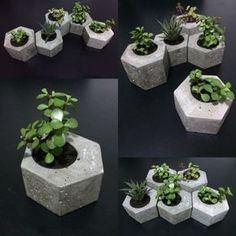 9 Noble Tips AND Tricks: Black Vases green vases inspiration.Flower Vases For Living Room. Cement Art, Concrete Pots, Concrete Furniture, Concrete Crafts, Concrete Projects, Concrete Planters, Recycled Furniture, Beton Design, Concrete Design