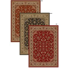Amalfi Sarouk Traditional Area Rug (7'9 x 11')