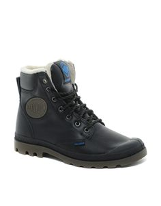 Palladium Waterproof Shearling Boots........ Winter is coming!