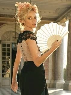 A Bite Of Spain: Celebrities Using Hand Fans - Part II Diane Kruger