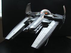 Sith Infiltrator Modified version (turrets added to front inside of the ship)