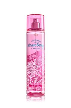 Fine Fragrance Mist Bourbon Strawberry & Vanilla